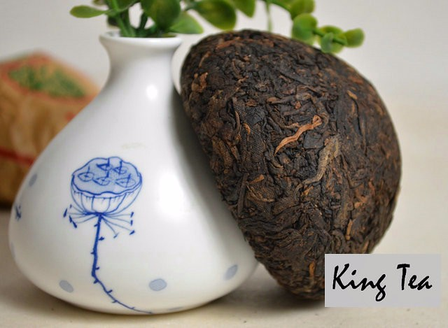 Free Shipping 2005 XiaGuan XiaoFa Tuo 100g*5=500g China YunNan Chinese Puer Puerh Ripe Tea Cooked Shou Shu Cha Weight Loss Slim