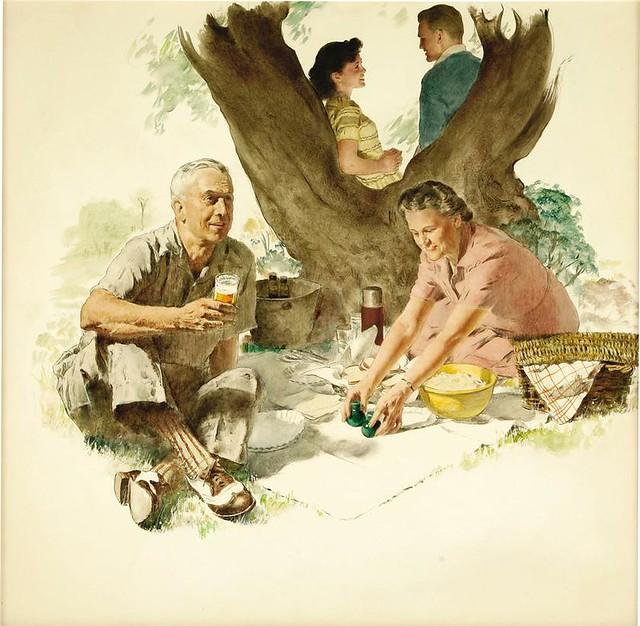 Crockwell-picnic