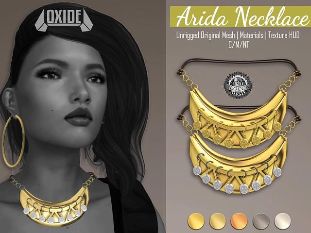 OXIDE Arida Necklace - IDTP2017