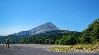 Dirfys mountain in Evia