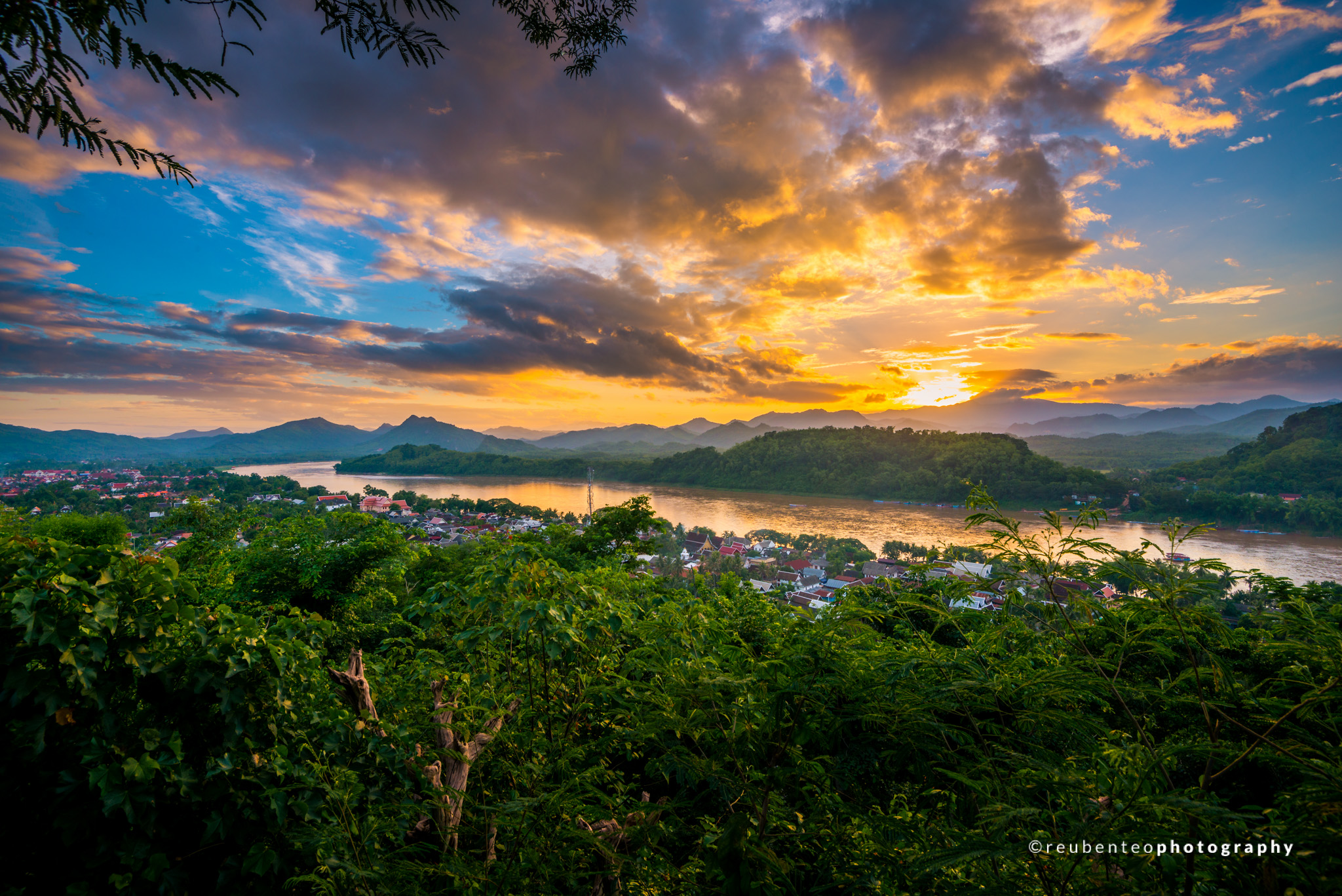 Sunset of Luang Prabang
