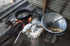 Traditional fried fish