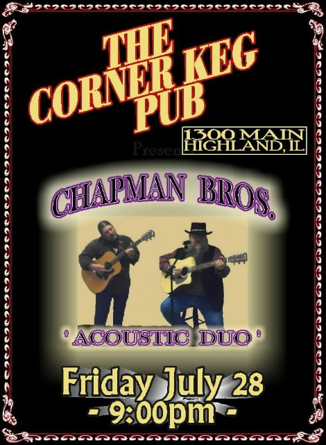 Chapman Bros 7-28-17