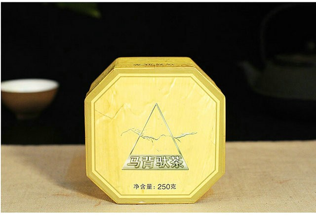 Free Shipping 2006 XiaGuan MaBei Boxed Tuo Bowl Nest 250g * 4 = 1000g YunNan MengHai Organic Pu'er Raw Tea Weight Loss Slim Beauty Sheng Cha