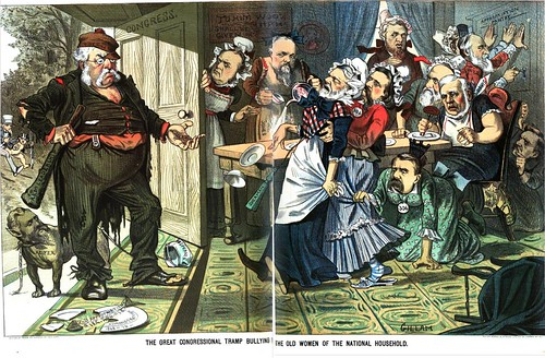 Great Congressional Tramp Bullying the Old Women of the National Household, the (1882)