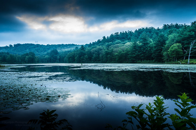 Rifle Range Pond at Daybreak