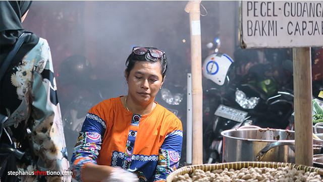 Penjual Mie Pentil