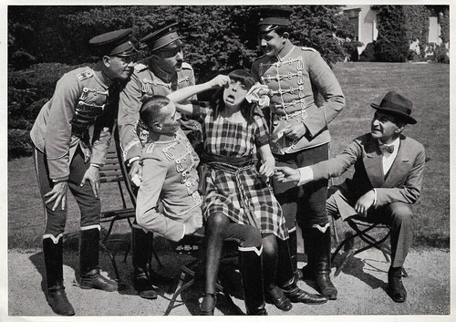 Asta Nielsen, Bruno Kastner and Max Landa in Engelein (1914)