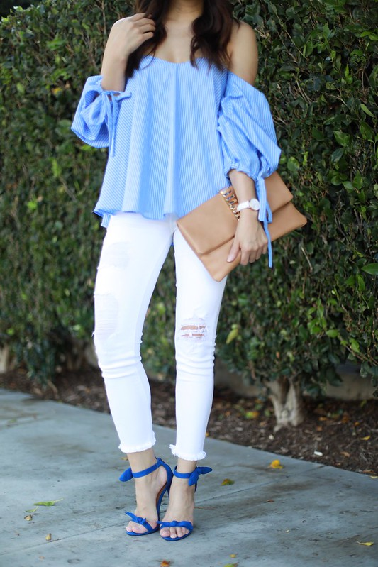 shop blush elegance,summer style,off the shoulder top,ootd,zero uv,fashion blogger,lovefashionlivelife,joann doan,style blogger,stylist,what i wore,my style,fashion diaries,outfit,orange county,oc blogger,oc fashion blogger,asian blogger,bell sleeves,summer top
