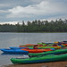 Kayaks, Willow Springs Lake, AZ