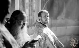 Литургия в Иверском монастыре 360