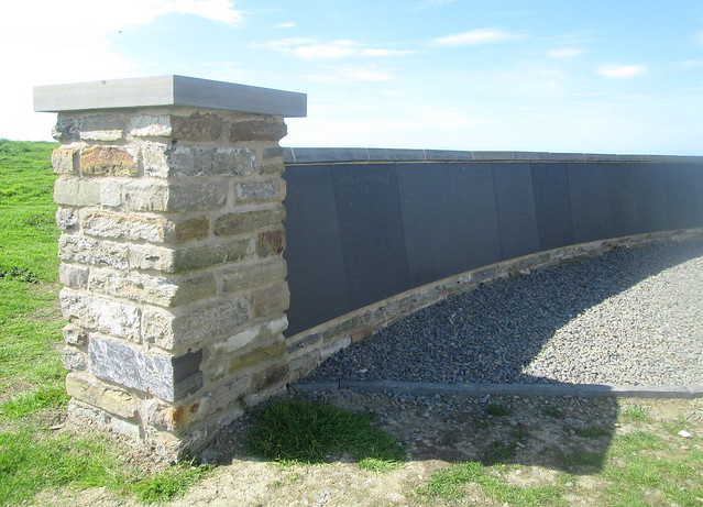 HMS Hampshire Memorial Wall