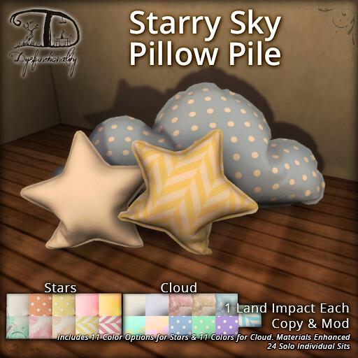 StarrySkyPillowPile - TeleportHub.com Live!