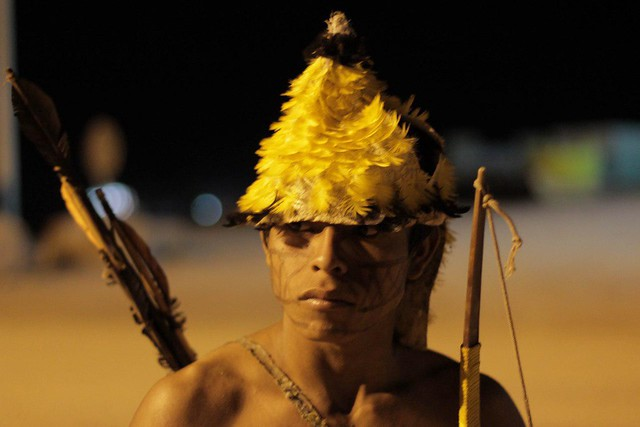Munduruku Occupation of Sao Manoel Dam site in Brazil