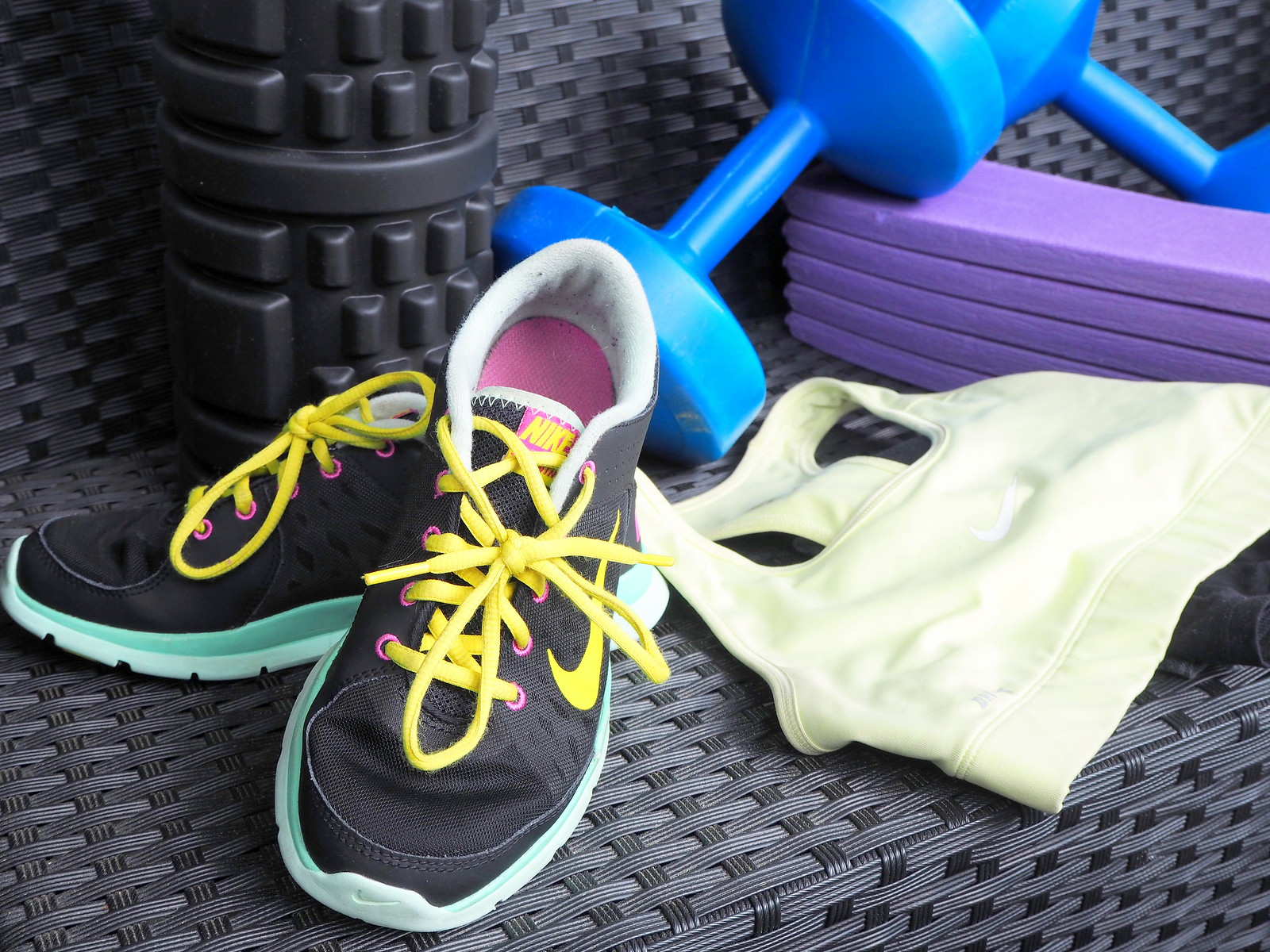 urheiluvaatteet ja -kengät