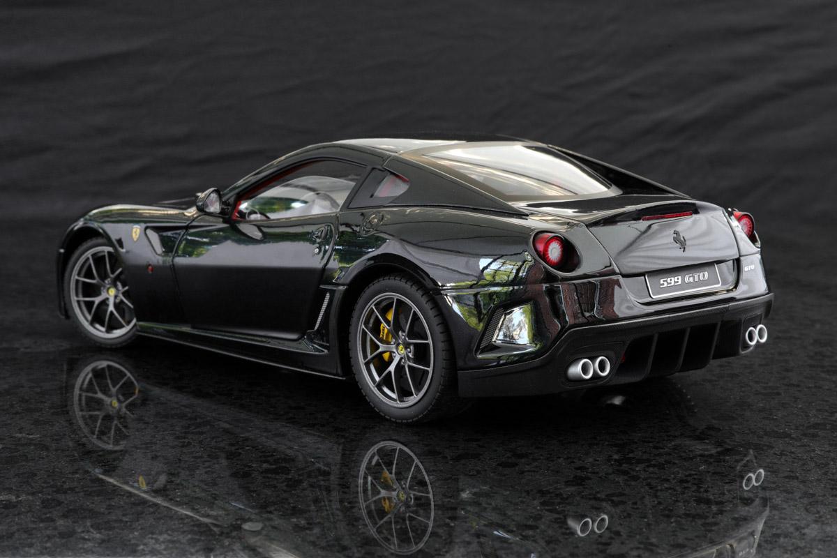 Hot Wheels Elite 1 18 Ferrari 599 Gto Black Ferrari Diecastxchange Com Diecast Cars Forums