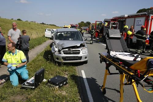 AARTSWOUD - 21 juli Ongeval  N239