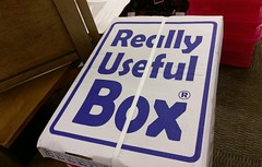 Really useful box at the Poplar Ave. Office Depot