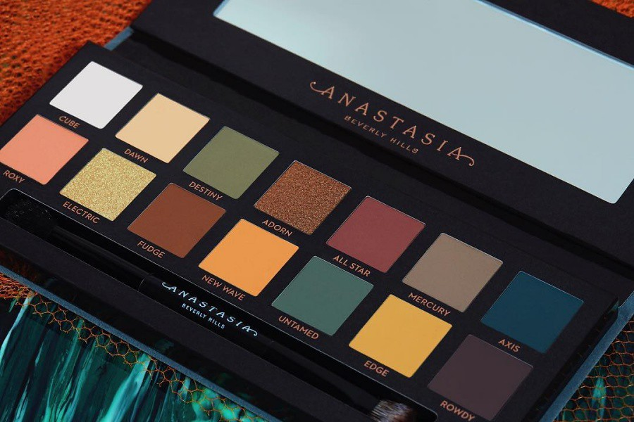 Anastasia Beverly Hills Subculture Palette Swatches on different Skin Tones
