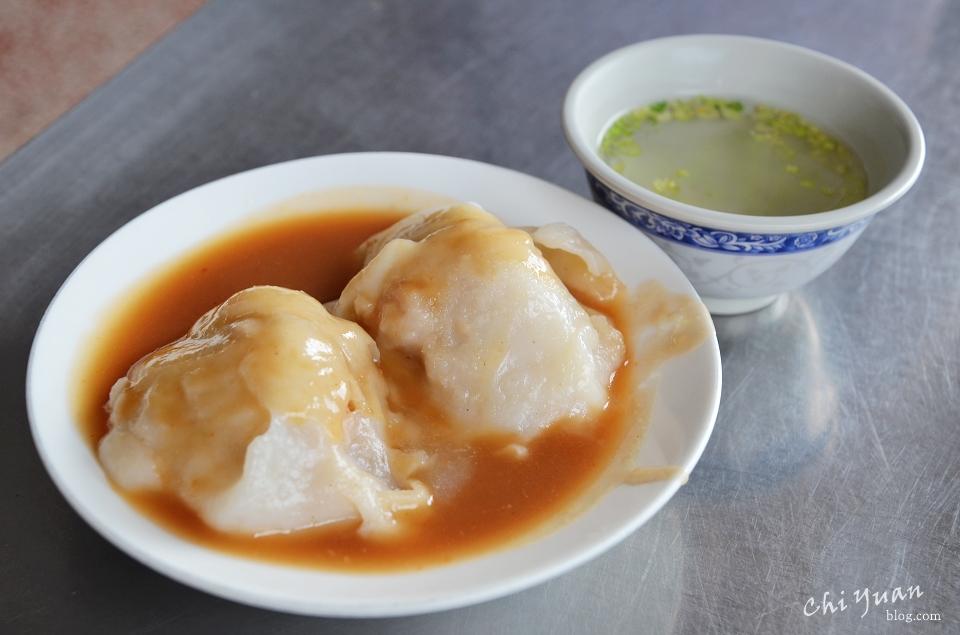 [台南]中西區福記肉圓。蒸出軟嫩肉香,來一碗大骨湯,近台南新景點地方法院
