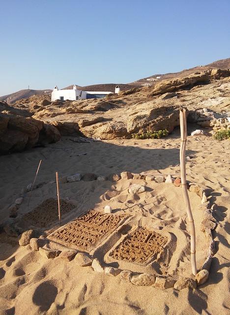 sand made home
