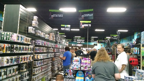 Third Eye Comics Grand Opening, July 8, 2017