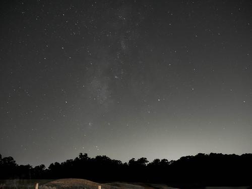 nightsky sky milkyway
