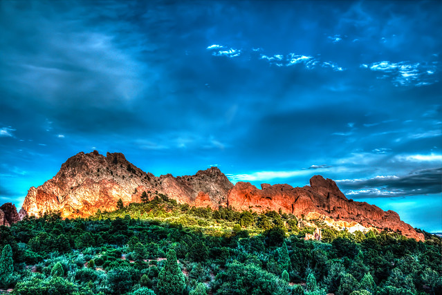 Gardens of the Gods in HDR