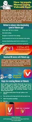 How To Create Memes Using Vidmate App?