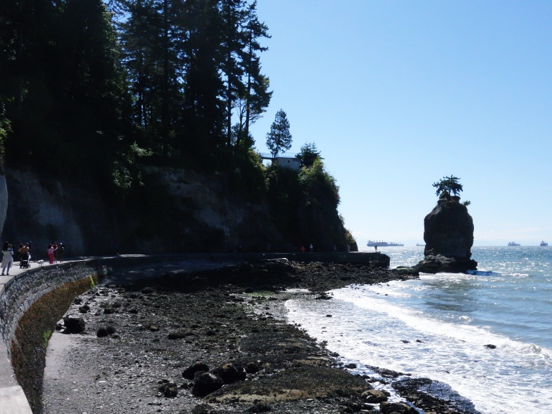 Siwash Rock Seawall