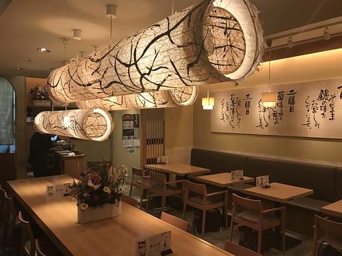 Eel restaurant - Bincho Ginza