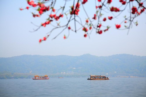 West Lake in Early Spring. From Visiting Marco Polo's Favorite City in China