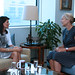 July 19, 2017 - 2:37pm - Ambassador Nikki Haley meets with UN Special Coordinator for Lebanon Sigrid Kaag, July 19, 2017