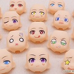 GSC全新服務「黏土人.FACE.MAKER(ねんどろいどフェイスメーカー)」登場,打造出專屬於自己的黏土人表情!