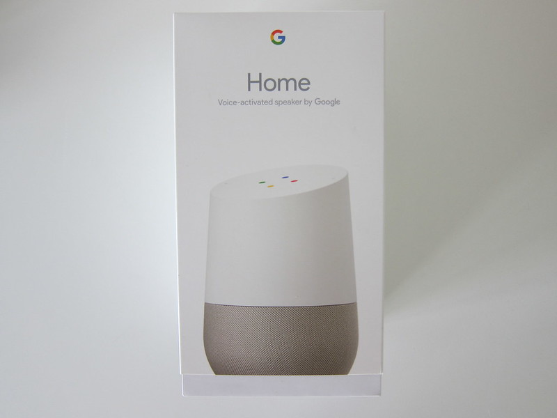 Google Home - Box Front