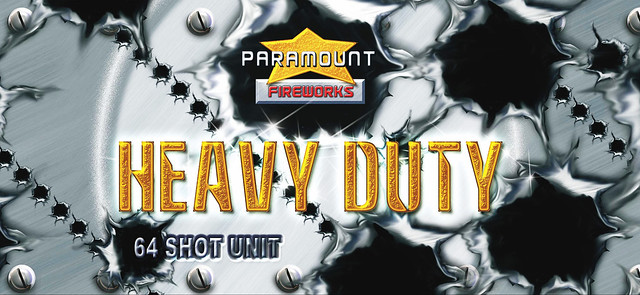 Heavy Duty 64 Shot 1.3G Barrage