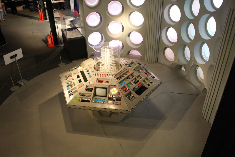 1980s TARDIS console, Doctor Who Experience, Cardiff Bay