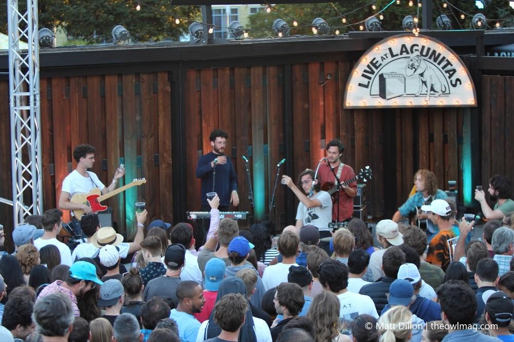 Whitney @ Lagunitas Brewery, Petaluma 7/25/17