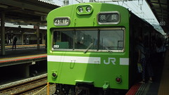 NARA-LINE(103 series) at KYOTO Station(170729-4717)
