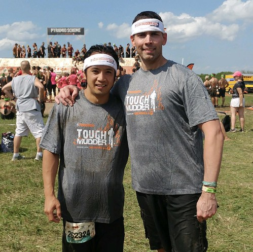 Master An Nguyen and Mr. JJ Jones survived and completed a tough 6-mile obstacle course at today's Tough Mudder in Hugo. Way to go gentlemen!!
