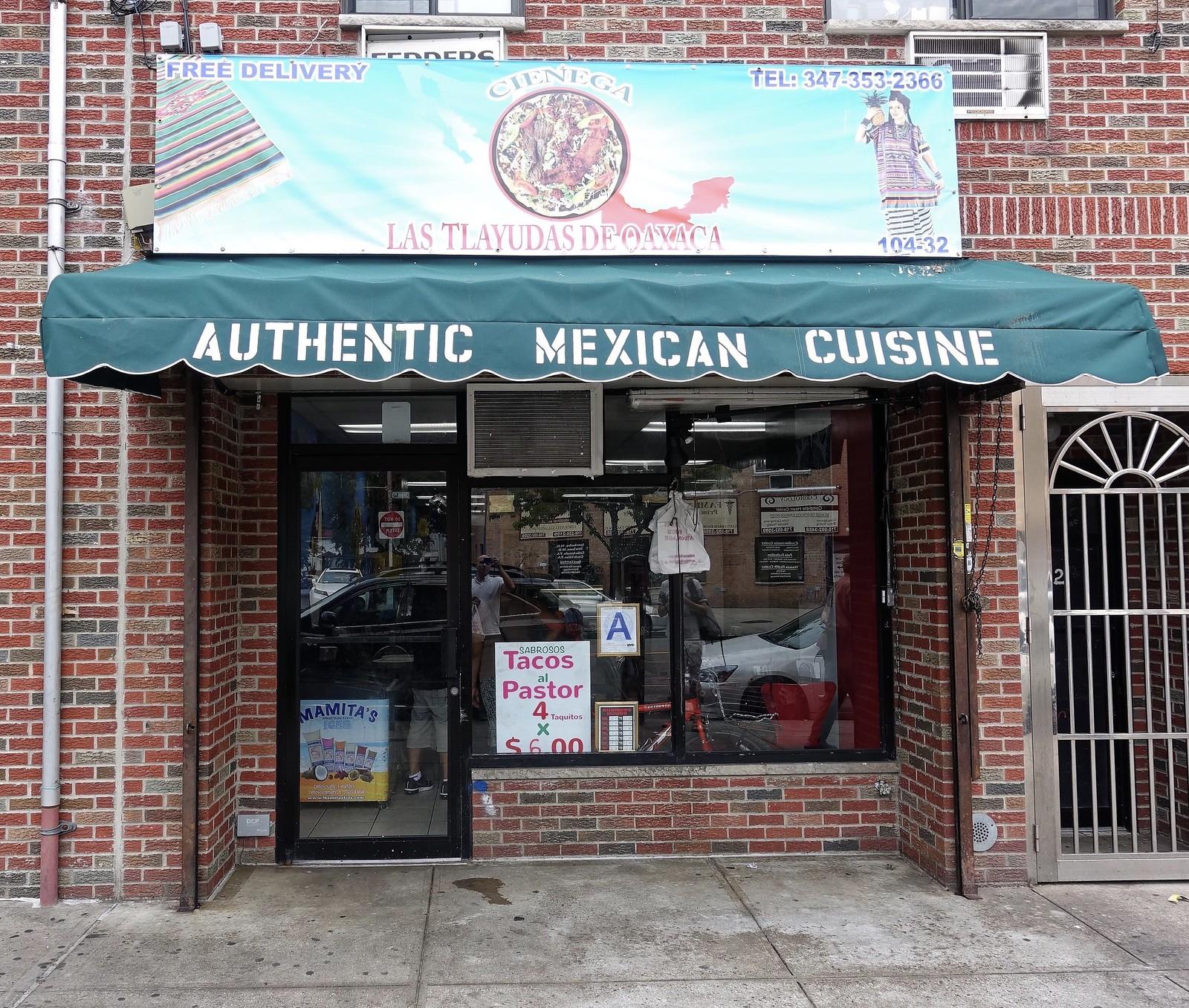 Cienaga | Las Tlayudas De Oaxaca | 104-32 Corona Ave | Corona | Queens | NYC