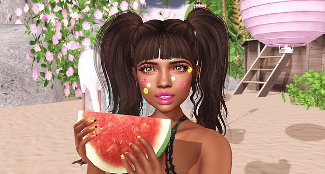 watermelon party closeup