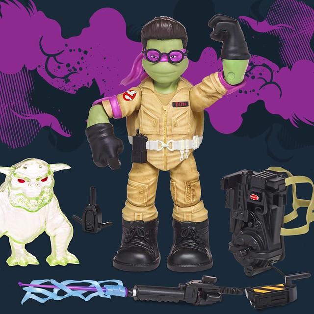 Target 限定!兩大經典的完美交叉!!Playmates 忍者龜 x 魔鬼剋星【忍者魔鬼剋星龜(暫譯)】Ninja Ghostbusters 6 吋可動人偶作品