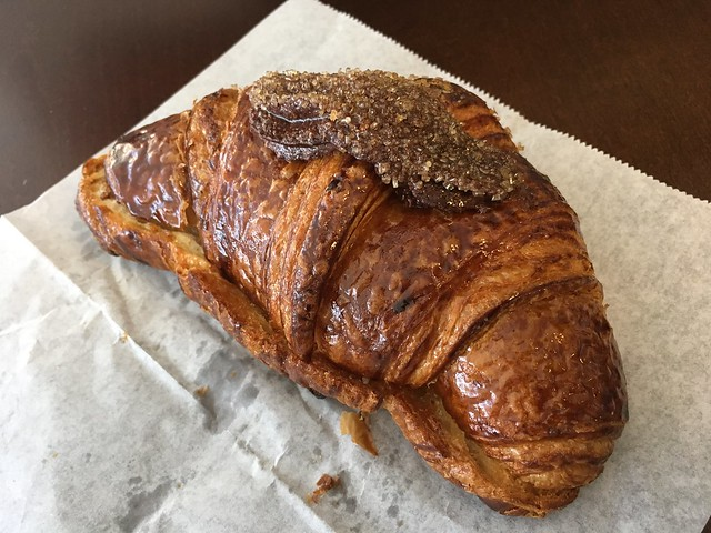 Banana, chocolate, almond croissant - Coffee Mission