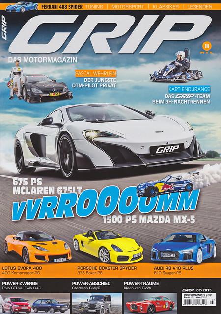 GRIP - Das Motormagazin 7/2015