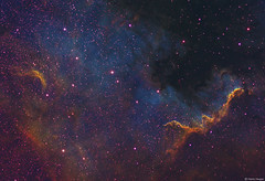 The Cygnus Wall in a different light