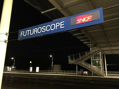 Gare Futuroscope, Poitiers