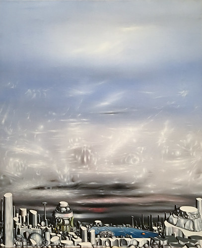Yves Tanguy, From Green to White, 1954, Met