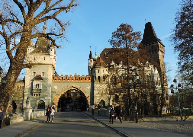 Vajdahunyad Castle, Budapest, Hungary