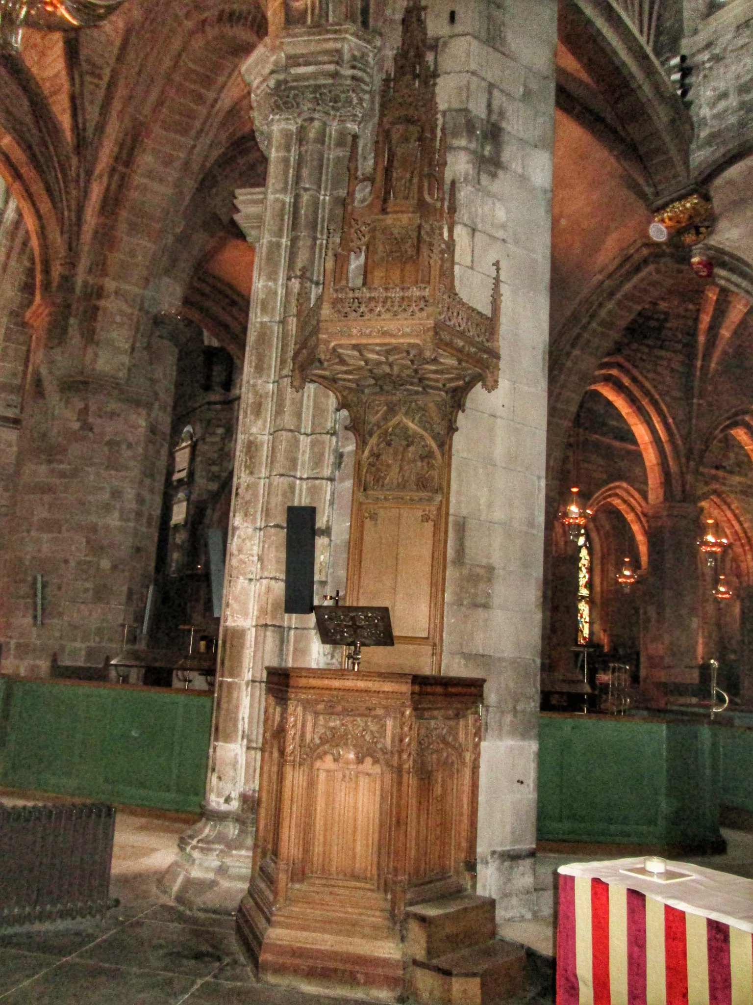St Giles Cathedral Interior details